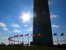 Washington Monument Royalty Free Stock Image