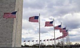 Washington monument Arkivfoton