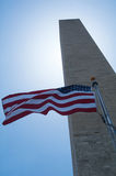 Washington monument Royaltyfria Bilder