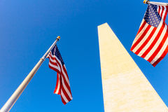 Washington Monument Royalty-vrije Stock Afbeeldingen