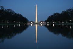 Washington monument. On the  Mall in Washington DC Stock Photography