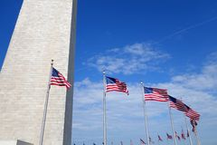 Washington Monument fotografia stock