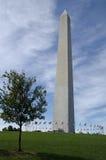 Washington monument royaltyfria foton