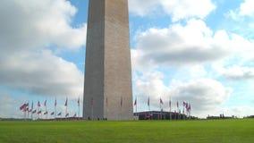 Washington Monument video estoque