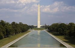 Washington monument Arkivfoto