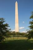 Washington Monument auf dem Mall in DC Lizenzfreie Stockfotografie