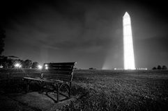 Washington monument 2013 Royalty Free Stock Images