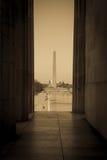Washington Monument and Capitol Hill Royalty Free Stock Photo