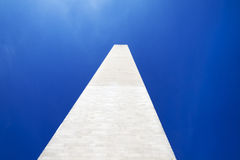 The Washington Monument. In Washington D.C with a clear blue sky Stock Images