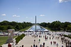 The Washington Monument Royalty Free Stock Photo