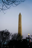 Washington Monument at Dawn Stock Photo