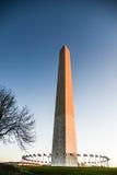 Washington Monument at Dawn Royalty Free Stock Photo