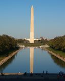 The Washington  Monument in DC Royalty Free Stock Photography