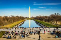 Washington monument dc Obrazy Royalty Free