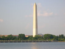 Washington Monument. The Washington Monument on the DC Mall in Washington DC Stock Image
