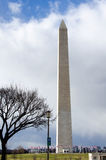 Washington Monument, DC. The Washington Monument is an obelisk built as a memorial to George Washington Royalty Free Stock Image