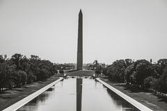 Washington Monument in DC. In the Summer of 2017 Stock Photography