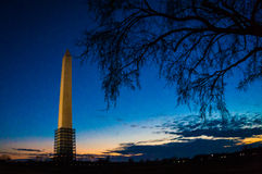 Washington, monument de C.C Photos libres de droits