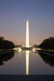 Washington Monument in der Nacht Lizenzfreie Stockfotografie