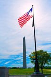 Washington Monument in District of Columbia DC Stock Photography