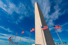 Washington Monument in District of Columbia DC Royalty Free Stock Photography