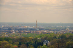 Washington Monument, E.U. Imagem de Stock Royalty Free