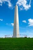 Washington Monument en la C C Imágenes de archivo libres de regalías