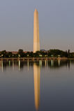 Washington Monument and its water reflection royalty free stock photos