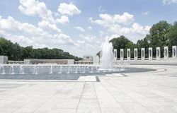 Washington Monument and Lincoln Memorial Stock Photo