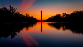Washington Monument foto de stock