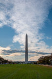 Washington Monument on the National Mall. Washington D.C Stock Photo