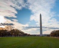 Washington Monument on the National Mall Stock Image