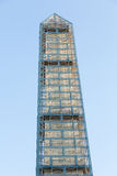 Washington Monument scaffolding Stock Photo