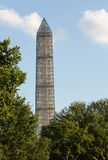 Washington Monument scaffolding Royalty Free Stock Photos