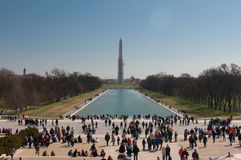 Washington Monument in spring, Stock Photography