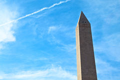 Washington Monument at Sunrise Stock Photos