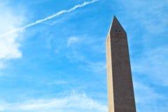 Washington Monument at Sunrise Stock Photos