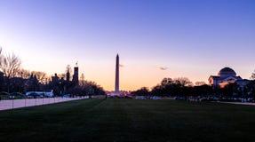 Washington Monument at sunset - Washington, D.C., USA Stock Photography