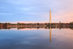 Washington Monument Tidal Basin DC Stock Images