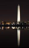 Washington Monument Tidal Basin Reflection Royalty Free Stock Image