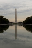 Washington Monument at Twilight on a Cloudy Day Stock Photos