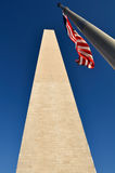 Washington Monument at US Nation Capital Royalty Free Stock Photo