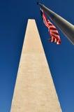 Washington Monument at US Nation Capital Royalty Free Stock Photo