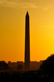 Washington Monument, Washington, DC. Washington Monument at sunset, Washington DC Royalty Free Stock Photo
