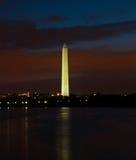 Washington monument, Washington, DC Royaltyfria Bilder