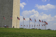 The Washington Monument in Washington DC July 2015 Stock Photography