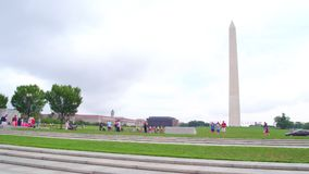 Washington Monument Washington dc motion video stock video footage