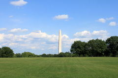 Washington Monument in Washington DC. USA stock image