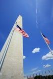 Washington-Monument in Washington, Gleichstrom stockbild