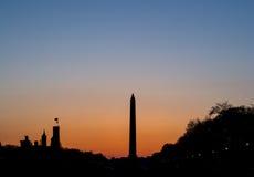 Washington monument arkivbild